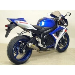 ARROW COMPLETE EXHAUST SYSTEM WITH PRO-RACE TITANIUM TERMINAL WITH STEEL BASE FOR SUZUKI GSX-R 750 2006/2007