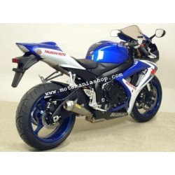 ARROW COMPLETE EXHAUST SYSTEM WITH PRO-RACE STAINLESS STEEL TERMINAL FOR SUZUKI GSX-R 750 2006/2007