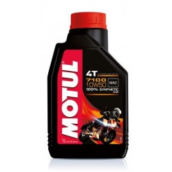 LUBRICANT OIL MOTUL 7100 10W50 FOR 4-STROKE ENGINES