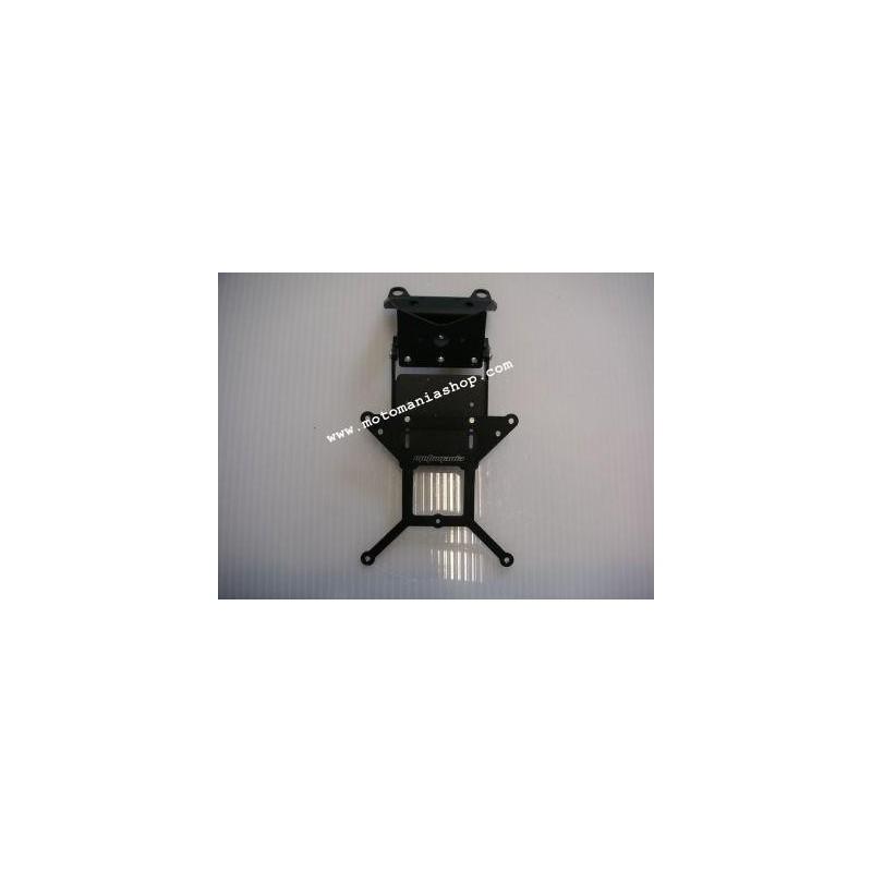 ADJUSTABLE ALUMINUM LICENSE PLATE SUPPORT FOR HONDA VFR 800 V-TEC 2002/2009