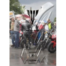 3D STICKER TANK PROTECTION FOR YAMAHA MT-09 TRANSPARENT