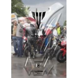 ADESIVO 3D PROTEZIONE SERBATOIO PER YAMAHA MT-09 TRASPARENTE