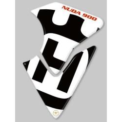 ADESIVO 3D PROTEZIONE SERBATOIO PER HUSQVARNA NUDA 900