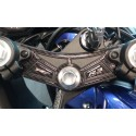 ADHESIVE 3D STEERING PLATE PROTECTION FOR YAMAHA YZF-R3 CARBON