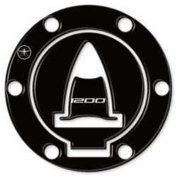 3D STICKERS PROTECTION TANK CAP BLACK DUCATI MULTISTRADA 1200/S/ENDURO