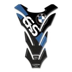 ADESIVO 3D PROTEZIONE SERBATOIO PER BMW GS CM 14 X 20 BLU