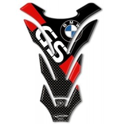 3D STICKER TANK PROTECTION FOR BMW GS CM 14 X 20 RED