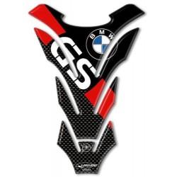 ADESIVO 3D PROTEZIONE SERBATOIO PER BMW GS CM 14 X 20 ROSSO