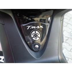 ADESIVO 3D PROTEZIONE TUNNEL PER YAMAHA T-MAX 500 2008/2011 CARBON BIANCO