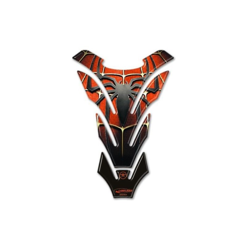 ADESIVO 3D PROTEZIONE SERBATOIO MOTO SPIDERMAN