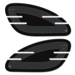 3D STICKERS SIDE PROTECTIONS FOR TRIUMPH BONNEVILLE, STREET TWIN, STREET CUP