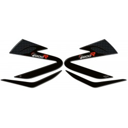 3D STICKERS TANK SIDE PROTECTIONS FOR BMW F 800 R