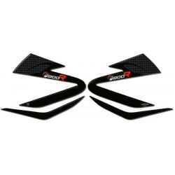 ADESIVI 3D PROTEZIONI LATERALI SERBATOIO BMW F 800 R