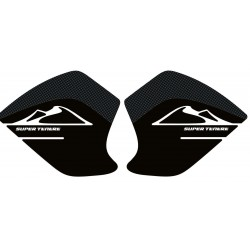 3D STICKERS SIDE PROTECTION TANK FOR YAMAHA SUPER TENERE CARBON