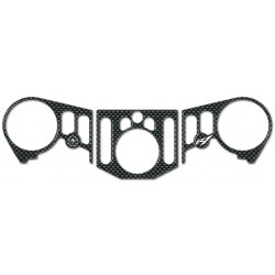 3D STICKER PROTECTION STEERING PLATE FOR YAMAHA R1 2015/2019