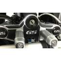 ADESIVI 3D PROTEZIONI PIASTRA STERZO BMW R 1200 GS 2008/2012 CARBON