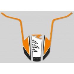 ADESIVO 3D PROTEZIONE PARAFANGO ANTERIORE PER KTM 1190R/1290R