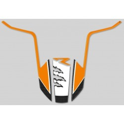 ADESIVO 3D PROTEZIONE PARAFANGO ANTERIORE PER KTM 1050R/1090R