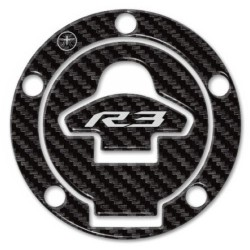 3D STICKER TANK CAP PROTECTION FOR YAMAHA YZF-R3 CARBON