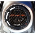3D STICKER TANK CAP PROTECTION KTM 390 DUKE 2014/2016