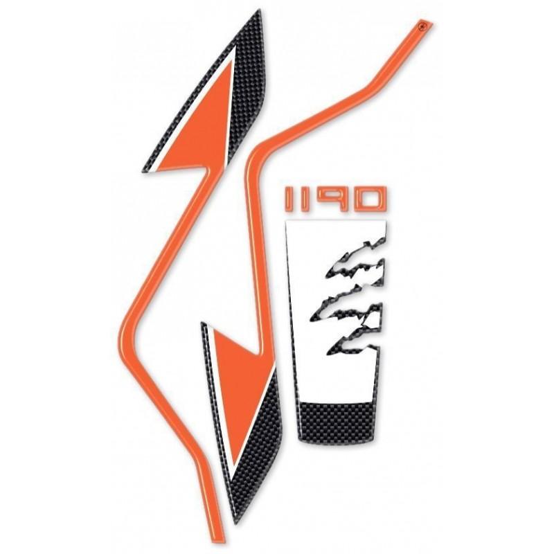 3D FRONT FENDER STICKER PROTECTION FOR KTM ADVENTURE 1190