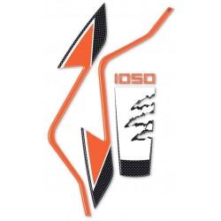ADESIVO PARAFANGO ANTERIORE 3D PROTEZIONE PER KTM ADVENTURE 1050
