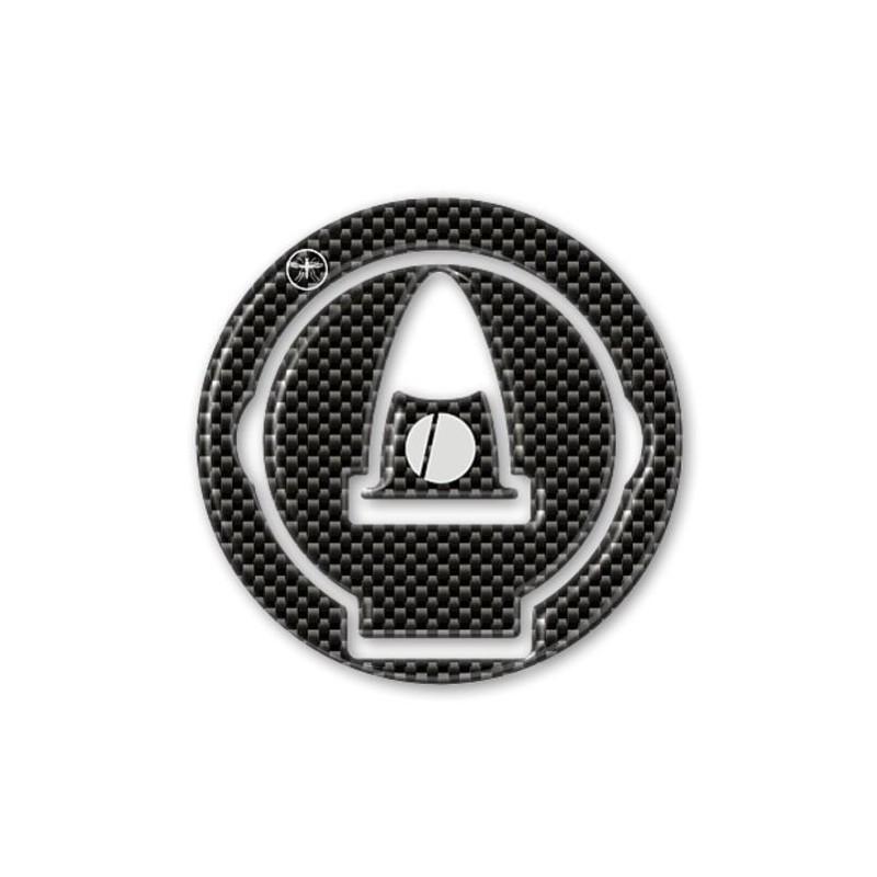 3D STICKERS PROTECTION TANK CAP CARBON DUCATI