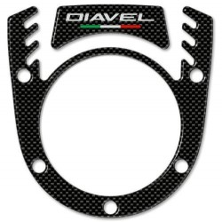 3D STICKER KEY BLOCK PROTECTION FOR DUCATS DIAVEL