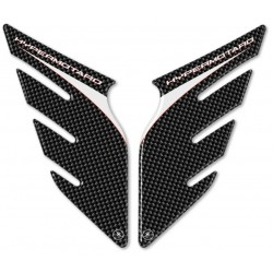 3D STICKERS TANK SIDE PROTECTORS FOR DUCATI HYPERMOTARD 2007/2012