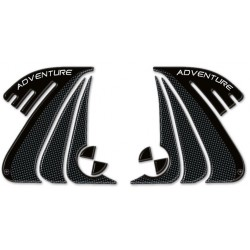 3D STICKERS TANK SIDE PROTECTIONS FOR BMW R 1200 GS 2013/2017, R 1200 GS ADVENTURE 2014/2018