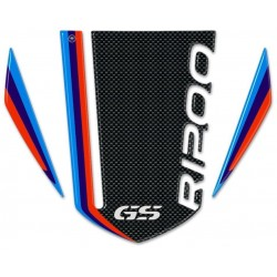 3D STICKERS FRONT PROTECTIONS CARBON LOOK BMW R 1200 GS 2008/2012