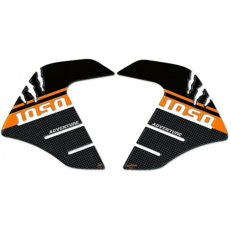 ADESIVI 3D PROTEZIONI LATERALI SERBATOIO PER KTM ADVENTURE 1050
