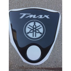 3D ADHESIVE FRONT TUNNEL PROTECTION FOR YAMAHA T-MAX 500 2008/2011 BLACK WHITE