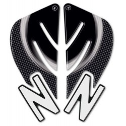 3D STICKERS TANK SIDE PROTECTIONS FOR KAWASAKI Z 1000 2007/2009