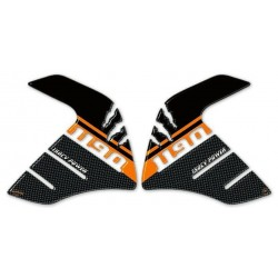 3D STICKERS TANK SIDE PROTECTIONS FOR KTM ADVENTURE 1190