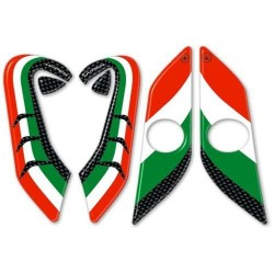 3D STICKERS SIDE PROTECTION TANK AND PARASTEL FOR DUCATI HYPERMOTARD 821, HYPERMOTARD 939