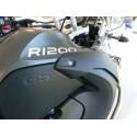 COPPIA ADESIVI 3D IN GEL BMW SCRITTA R 1200 MM 205 X 29
