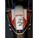 ADESIVO 3D PROTEZIONE PARAFANGO ANTERIORE PER KTM ADVENTURE 1290
