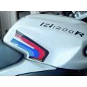 ADESIVI 3D PROTEZIONI LATERALI SERBATOIO PER BMW R 1200 R 2005/2014
