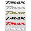 COPPIA ADESIVI SCRITTA T-MAX COLORE ORO CM 16 X 2,6 2pz.