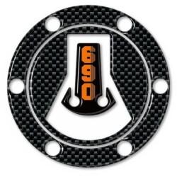 3D STICKER TANK CAP PROTECTION KTM DUKE 690