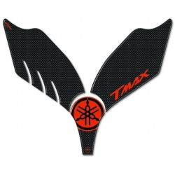 3D STICKERS PROTECTIONS Y FRONT FOR YAMAHA T-MAX 500 2001/2007 CARBON RED