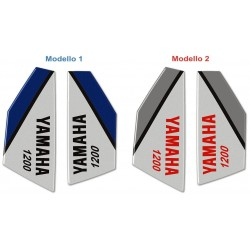 3D STICKERS SIDE PROTECTION TANK FOR YAMAHA SUPER TENERE ROSSO
