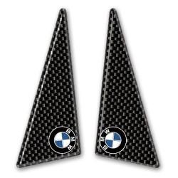 COPPIA ADESIVI UNIVERSALI 3D PROTEZIONE SERBATOIO PER BMW CM 10,5 x 4,8