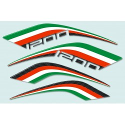 3D ADHESIVES SIDE PROTECTIONS FRONT SIDE PANELS AND TAIL FOR DUCATI MULTISTRADA 1200 2010/2014