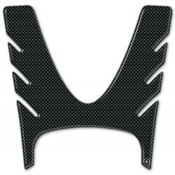 ADESIVO 3D PROTEZIONE SPORTELLO SERBATOIO PER YAMAHA T-MAX 500 2008/2011 NERO