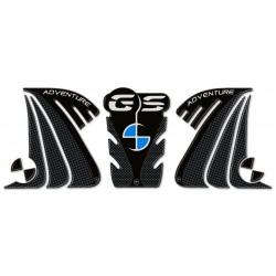 ADESIVI 3D PROTEZIONI LATERALI E SERBATOIO PER BMW R 1200 GS ADVENTURE 2014/2018