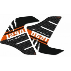 3D STICKERS TANK SIDE PROTECTIONS FOR KTM SUPER ADVENTURE 1290