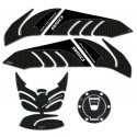 3D STICKER KIT FOR TANK PROTECTION, KEYLESS CAP AND SIDE PANELS FOR DUCATI MULTISTRADA 950