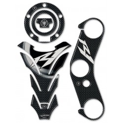 3D STICKERS PROTECTION TANK, CAP, HANDLEBAR PLATE FOR YAMAHA R1 2004/2006
